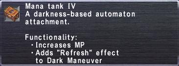 Mana Tank IV