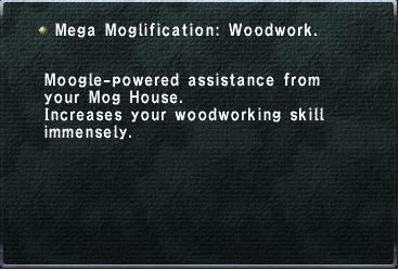 Mega Moglification Woodwork