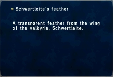 Schwertleite's Feather