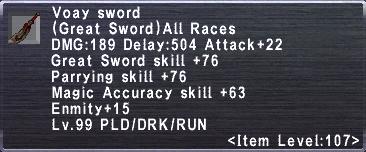 Voay Sword