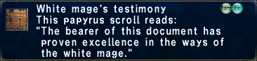 Whm testimony