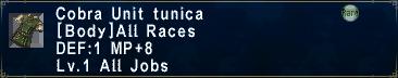 CUnitTunica