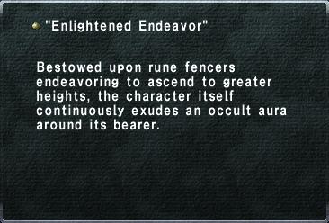 Enlightened Endeavor