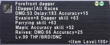 Forefront Dagger