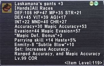 Laksamana's Gants +3