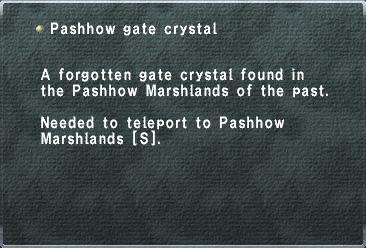Pashhow Gate Crystal