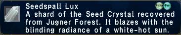 Seedspalllux