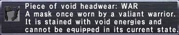 Voidhead WAR