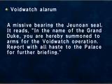 Voidwatch Alarum