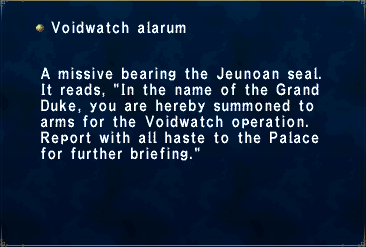 Voidwatch Alarum