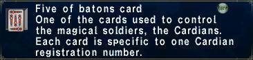 Card fiveofbatons
