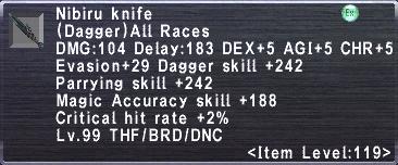 Nibiru Knife
