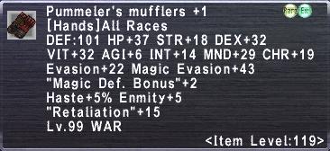 Pummeler's Mufflers +1