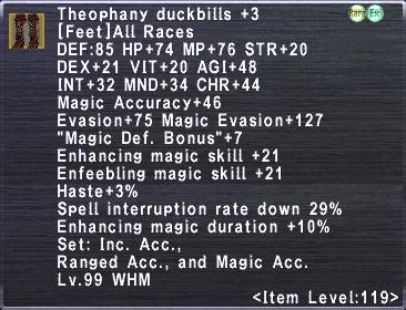 Theophany Duckbills +3