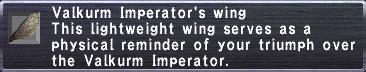 Valkurm Imperator's wing