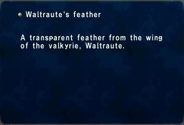 Waltraute's Feather