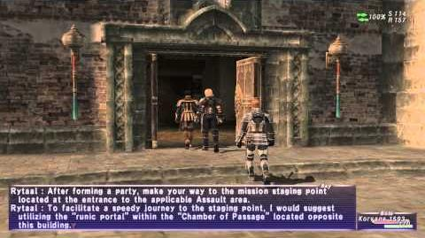 «FFXI-Movie» Assault Tutorial