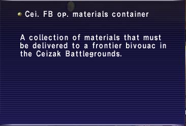 Cei FB op materials container