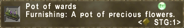 Pot of wards