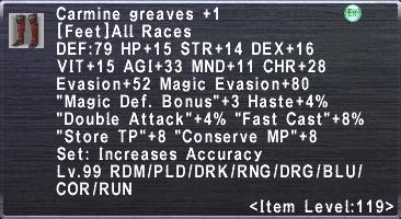 Carmine Greaves +1