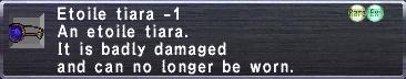 Etoile Tiara -1