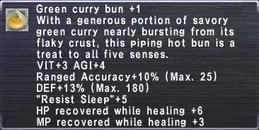 Green Curry Bun +1