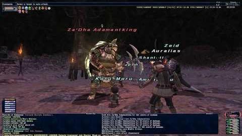 The Buried God - SCNM - Final Fantasy XI
