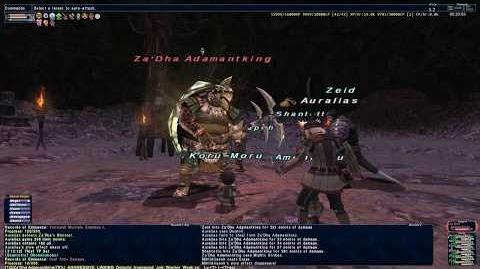 The Buried God - SCNM - Final Fantasy XI