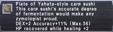 Yahata style carp sushi