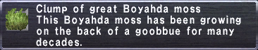 Great Boyahda Moss