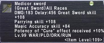 Medicor Sword
