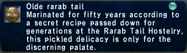 Olde rarab tail