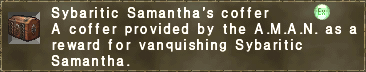 Sybaritic Samantha's coffer