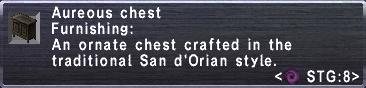 Aureous chest