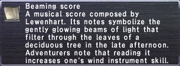 Beaming Score