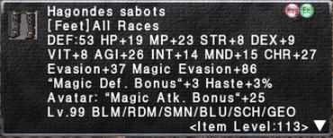 Hagondes Sabots
