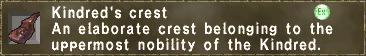 Kindred's crest