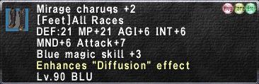 Mirage Charuqs +2 Augmented
