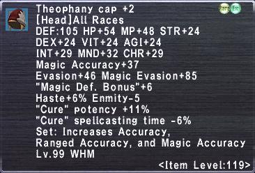 Theophany Cap Plus 2
