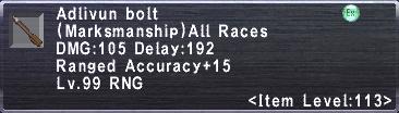 Adlivun Bolt