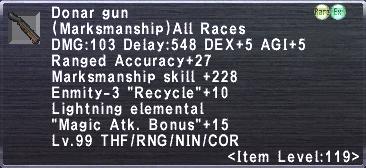 Donar Gun