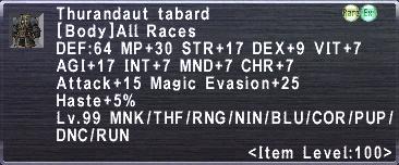 Thurandaut Tabard