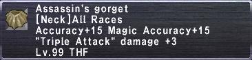 Assassin's Gorget