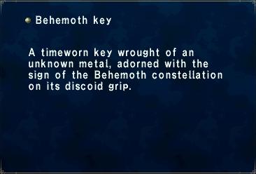 Behemoth Key