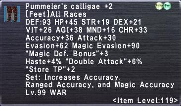 Pummeler's Calligae Plus 2
