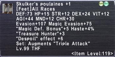 Skukler's Poulaines Plus 1
