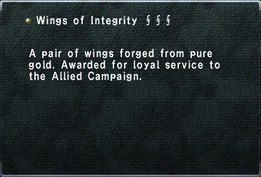 Wings of Integrity