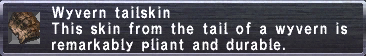 Wyvern tailskin