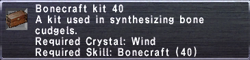 Bonecraft Kit 40