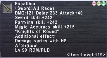 Excalibur (119-2)